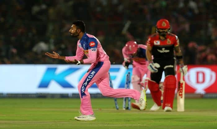IPL 2019 Match 14 Report RR vs RCB: Shreyas Gopal Weaves Magic, Jos Buttler Smashes Fifty to Seal First Win For Rajasthan Royals