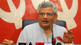 Ramdev Lodges FIR Against Sitaram Yechury For Linking 'Hinduism With Violence'