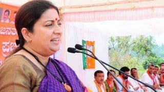 Smriti Irani Sweetens Deal For Amethi Voters, Offers Sugar at Rs 13 a kg