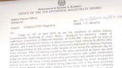 कश्मीर में चुनाव ड्यूटी पर जा रहे एसडीएम के साथ हाथापाई, सेना के जवानों के खिलाफ एफआईआर