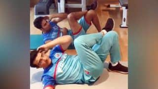 IPL 2019: Delhi Capitals' Sourav Ganguly And Mohammad Kaif Working Out Together Will Give You Fitness Goals   WATCH