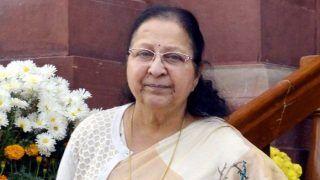 BJP Free to Make Its Choice, Will Not Contest Polls: Sumitra Mahajan