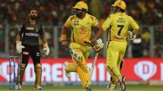 KKRvsCSK: चेन्नई ने कोलकाता को 5 विकेट से हराया, रैना-जडेजा की शानदार बैटिंग