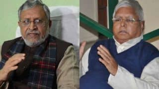Sushil Kumar Modi Alleges Lalu Prasad Offered to Help Pull Down Mahagathbandhan