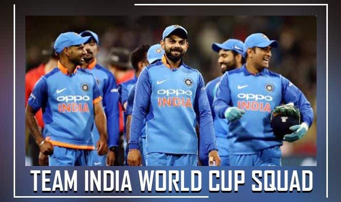 Team-India World Cup Squad Announced