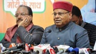 Thawar Chand Gehlot Predicts BJP-Led NDA Will Win Over 300 Seats in LS Polls