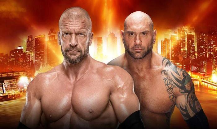 Triple H vs Batista_wrestle mania 35 -picture credits-WWE