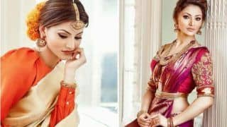 Urvashi Rautela Looks Super Hot in Kanchipuram Saree And Bridal Jewellery in Her Latest Magazine Photoshoot