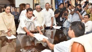 Ashok Gehlot's Son Vaibhav Gehlot Files Nomination From Jodhpur LS Seat