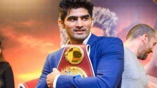 कांग्रेस ने बॉक्सर विजेंद्र सिंह को बनाया दक्षिणी दिल्ली से उम्मीदवार