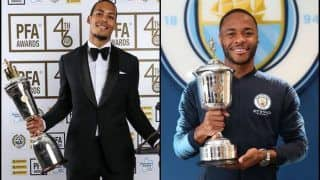Van Dijk Named Premier League's 'Player of The Year', Sterling Bags 'Young Player of The Year' Title