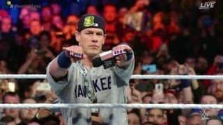 WWE Superstar John Cena Sends Fans Wild as he Goes Old School in Surprise Wrestlemania Return | WATCH