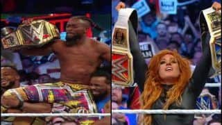 WWE Wrestlemania 35 Results 2019: Kofi Kingston, Becky Lynch Win Titles, Brock Lesnar, Batista Randy Orton Suffer Defeat