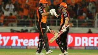 सनराइजर्स हैदराबाद को झटका, बैट से आंतक मचाने दो खिलाड़ी नहीं खेलेंगे मैच