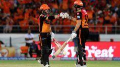 हैदराबाद ने कोलकाता को 9 विकेट से हराया, वॉर्नर-बेयरस्टो का कहर