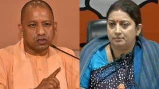 Yogi Adityanath to Accompany Smriti Irani When She Files Nomination in Amethi
