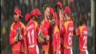 Zimbabwe vs UAE 1st ODI Cricket Live Streaming, Latest Score And Updates April 10th 2019 Harare Sports Club, Timing, Dream 11, Starting 11, When, Where to Watch