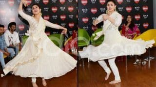 Alia Bhatt Performs Ghar More Pardesiya During Kalank's Promotion And You Can't Take Your Eyes Off Her - Watch