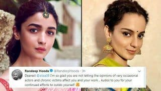 Kangana Ranaut vs Alia Bhatt: Who is The 'Occasional Actor' in Randeep Hooda's Tweet?