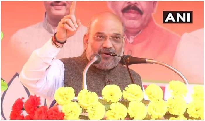 Congress Doing 'Ilu Ilu' With Terrorists, Says Amit Shah at Vijay Sankalp Rally