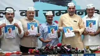 AAP Releases Manifesto For Lok Sabha Polls, Promises to Take Demand For Full Statehood Forward