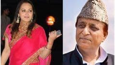 'Curse of Women', Jaya Prada Attacks Azam For Turning Emotional at Poll Rallies