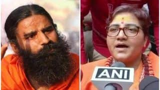 Nationalist Sadhvi Pragya Got Cancer Due to Torture in Jail: Ramdev