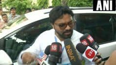 Union Minister Babul Supriyo    Heckled    by Students at Jadavpur University in Kolkata