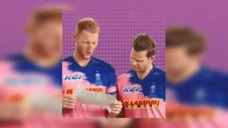IPL2019: RR Batting Coach Backs Smith and Stokes to Perform Against CSK