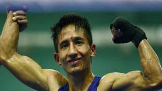 Kavinder Bisht Stuns World Champ to Enter Asian C'ship Semis