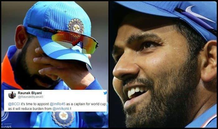 IPL 2019: Rohit Sharma Over Virat Kohli as Captain For Team India in World Cup 2019, Fans Make Big Demand | SEE POST