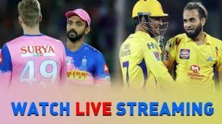 CSK vs RR Live Streaming, When and How to watch Chennai vs Rajasthan free live match streaming online on Hotstar, Star Sports 1 & HD, Star Sports Select