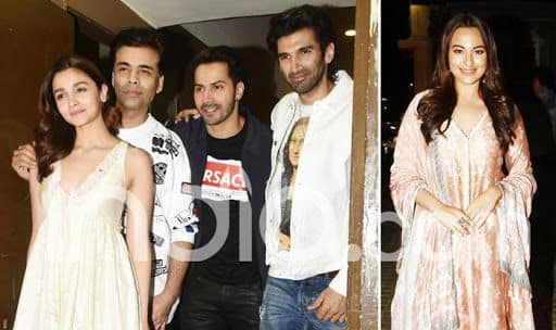 Kalank's Team Attends The Special Screening of The Film