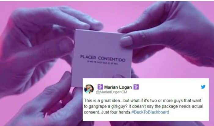 New 'Consent Condom' Requires 2 People to Open, Twitterati Criticise Saying it Won't Prevent Rape