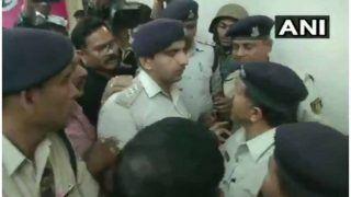 CM ओएसडी के यहां आयकर छापा: CRPF अधिकारियों से भिड़ी MP पुलिस, धक्का-मुक्की, देखें VIDEO