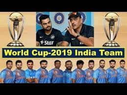 India Cricket World Cup 2019 Squad