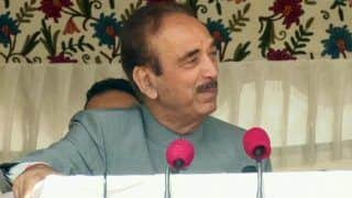 PM Responsible For Deteriorating Security Situation in J&K: Azad
