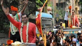 'द ग्रेट खली' ने बीजेपी के लिए प्रचार किया,  शिकायत करने टीएमसी पहुंची निर्वाचन आयोग