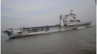 आईएनएस विक्रमादित्य में आग, नौसेना अधिकारी डीएस चौहान शहीद