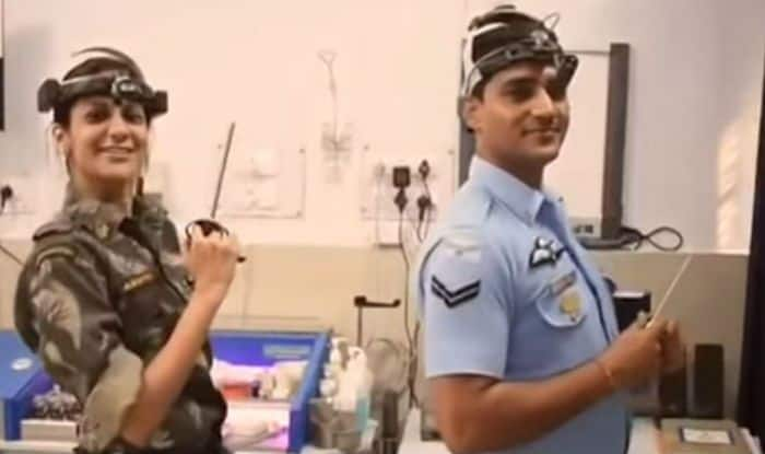 Uttar Pradesh: Indian Air Force Doctors Dance With Staff