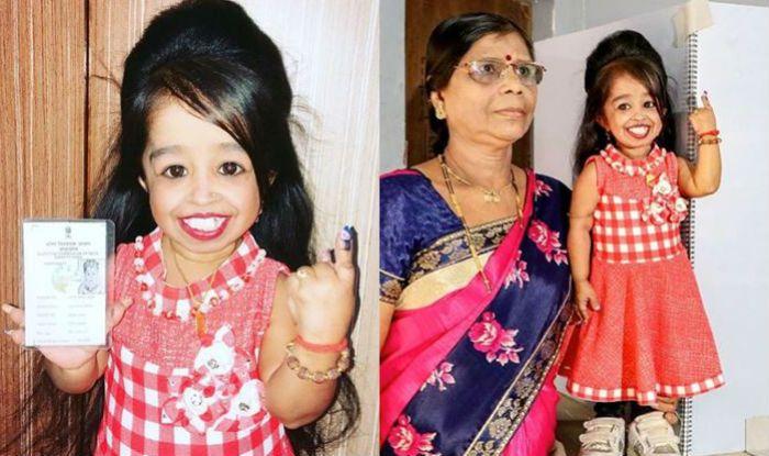 Lok Sabha Elections 2019: World's Shortest Woman Jyoti Amge Casts Vote From Nagpur