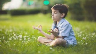 Yoga Asanas to Relieve Psychological Stress in Childhood