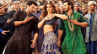 Kalank Song Aira Gaira Out: Kriti Sanon's Dance Binds Varun Dhawan-Aditya Roy Kapoor in Magic