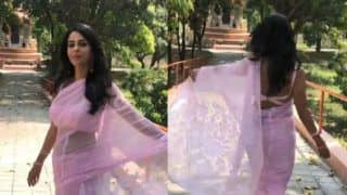Mallika Sherawat's Sexy Video in Hot Pink Saree is Steaming up Social Media, Watch