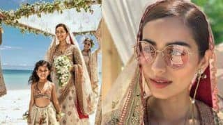Manushi Chhillar Looks Royal And Beautiful in This Dreamy Bridal Avatar, See Pics