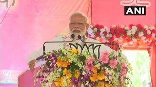Pro-Incumbency Wave in Nation, Thunders PM Modi in Varanasi