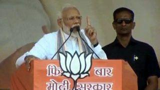 मुजफ्फरपुर में बोले पीएम मोदी- भारत को जहां से भी खतरा होगा, हम घर में घुसकर मारेंगे