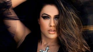 Nia Sharma Looks Hot in Black Dress as She Shows The Perfect Kind of Nude Makeup - See Photo