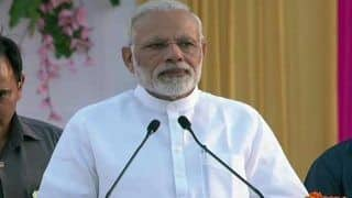 PM Takes 'Nyay' Jibe at Oppn, Attacks K'taka CM Over Vote Bank Politics