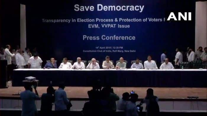 Opposition Mounts Attack on EVMs, Demands Return of Ballot Paper | Updates